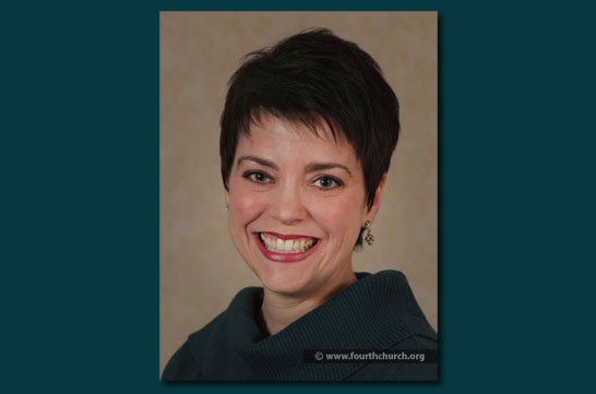 Shannon Kershner Pastor-Elect Fourth Presbyterian Church