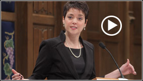 Shannon Kershner Addresses Fourth Presbyterian Church
