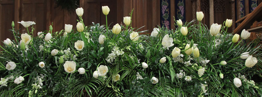 Fourth Presbyterian Church: Easter Flowers