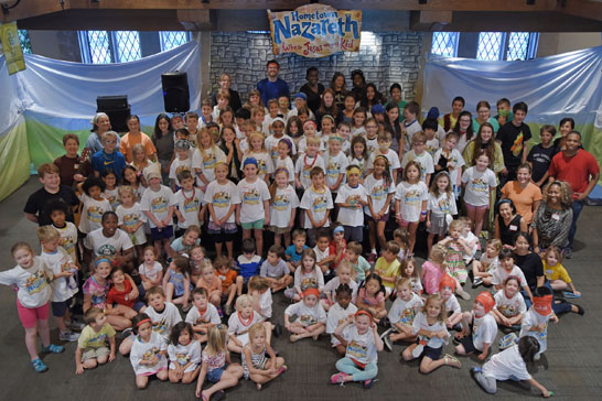 Vacation Bible School at Fourth Presbyterian Church