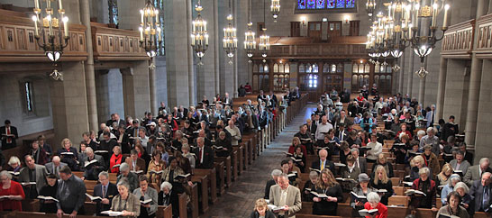 Annual Meeting of the Congregation of Fourth Presbyterian Church