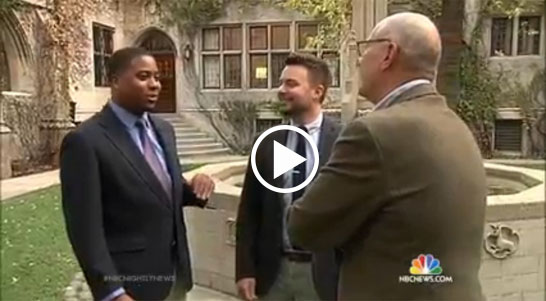 NBC Nightly News profile on Chicago Lights Tutoring at Fourth Presbyterian Church