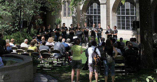 Music by the Fountain by Fourth Presbyterian Church