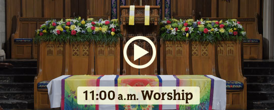 Livestream Worship from Fourth Presbyterian Church