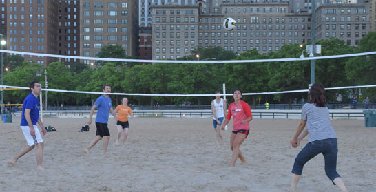Young Adults Volleyball at Fourth Presbyterian Church